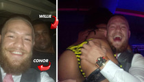 UFC Fighter -- Strip Club Session With NFL Hall of Famer