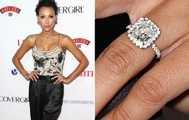 Naya Rivera Engaged to Big Sean -- See the Ring!