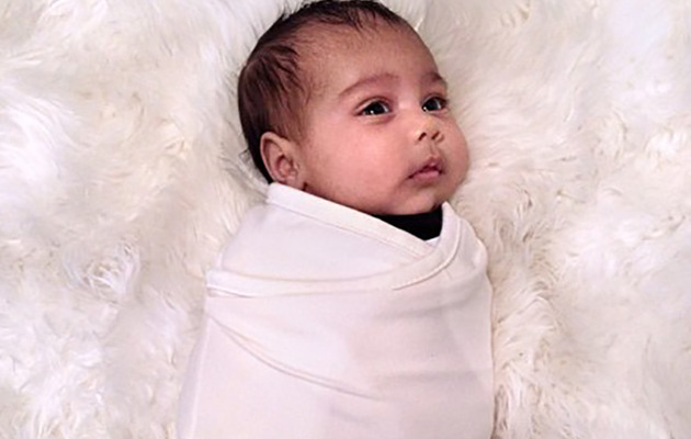 Kim Kardashian Shares New Photo of Baby North West