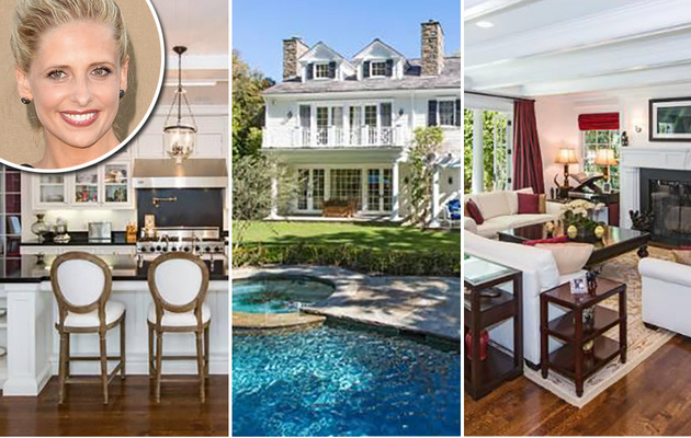 Take a Peek Inside Sarah Michelle Gellar's $6.1 Million Home!
