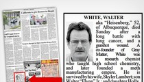 'Breaking Bad' -- Walter White Gets REAL OBIT In Hometown Newspaper