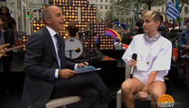 Miley Cyrus to Matt Lauer -- People Stop Bangin' at 40 ... And You're Way Past 40