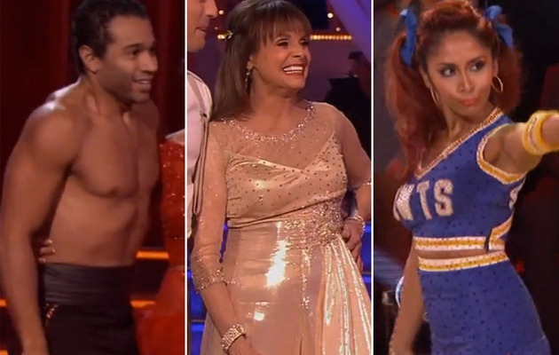 """Dancing With The Stars"" Recap -- Who Went Home & Who Went Shirtless?"