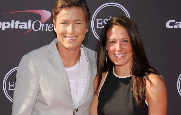 Exclusive: Abby Wambach, Sarah Huffman Wedding Pics!