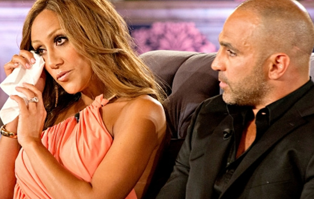 "Teresa Giudice & Melissa Gorga Get Emotional at ""Real Housewives of New Jersey""…"