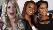 'Real Housewives of Atlanta' WAR -- Kim Zolciak Beats Kandi Burruss' Ass ... In Court