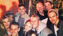 Zac Efron -- Post-Rehab Reunion With 'Hairspray' Cast