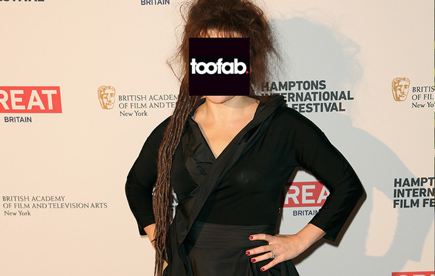 Helena Bonham Carter Shows Off Dreaded New 'Do!