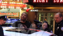 Maino -- Rapper ARRESTED in NYC ... You Can't Be Driving That Bentley