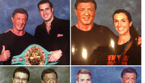 Sly Stallone Superfans -- We Dropped $445 ... To Pose With Our Hero