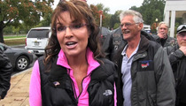 Sarah Palin To Gov't --  Stop Using Vets As Political Pawns... Cuz They're MY Pawns