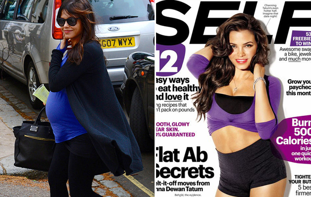 Jenna Dewan Tatum Looks HOT on the Cover of SELF Magazine!