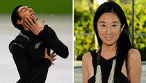 Figure Skater Evan Lysacek -- It's a Vera Wang Thang