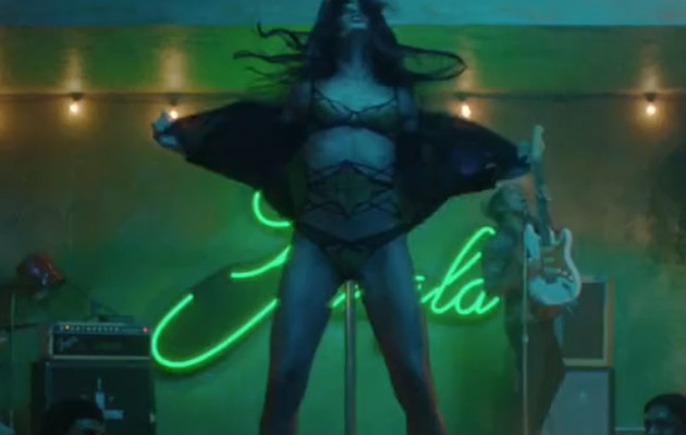 "Freida Pinto Strips for Bruno Mars in ""Gorilla"" Music Video!"