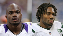 Adrian Peterson vs. Antonio Cromartie -- Who'd You Rather?