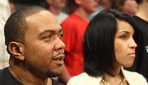 Timbaland's Wife Files For Divorce -- What's Yours Is Mine!