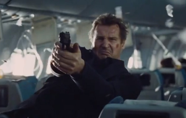 "Liam Neeson Back to Kicking Butt in ""Non-Stop"" Trailer!"