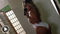 Kim Kardashian's Ass -- Caught in a Giant Coverup