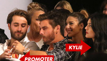 Kylie and Kendall Jenner -- Hung Out with Nightclub Promoter Before Underage Partying