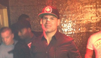 UFC Champ Cain Velasquez -- Partying It Up With a Busted Face
