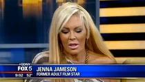 Jenna Jameson -- WHACKED OUT ... Live TV Segment Cut Short Over Bizarre Behavior