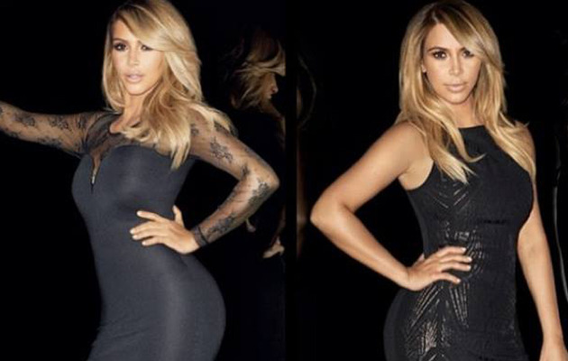 Kim Kardashian Flaunts Post-Baby Bod in New Kardashian Kollection Ad!