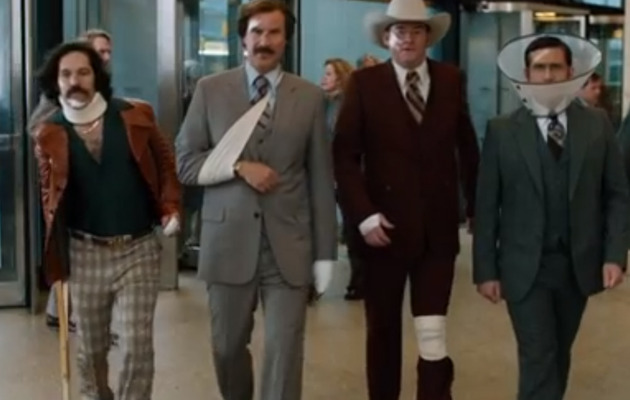 "The Boys Are Back -- Check Out the New Trailer for ""Anchorman 2"""