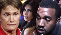 Bruce Jenner -- Not Invited to Kim Kardashian and Kanye West's Engagement Surprise