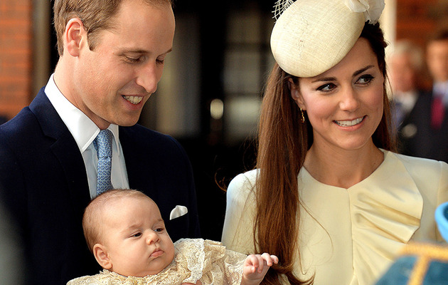 Prince George's Christening -- See The Official Photo!