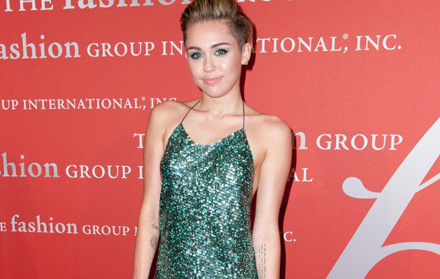 Miley Cyrus Finally Puts Some Clothes On!