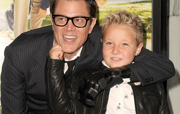 "Johnny Knoxville & Jackson Nicoll Talk ""Bad Grandpa"" Craziness!"
