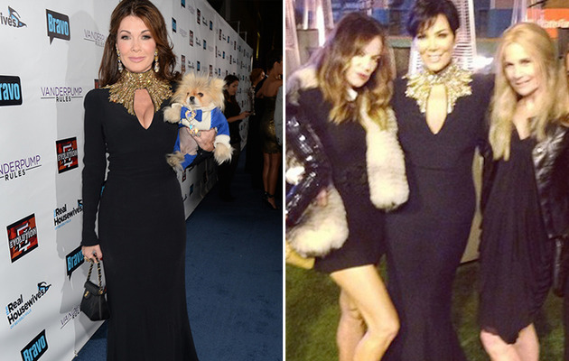 Dueling Dresses: Lisa Vanderpump vs. Kris Jenner!