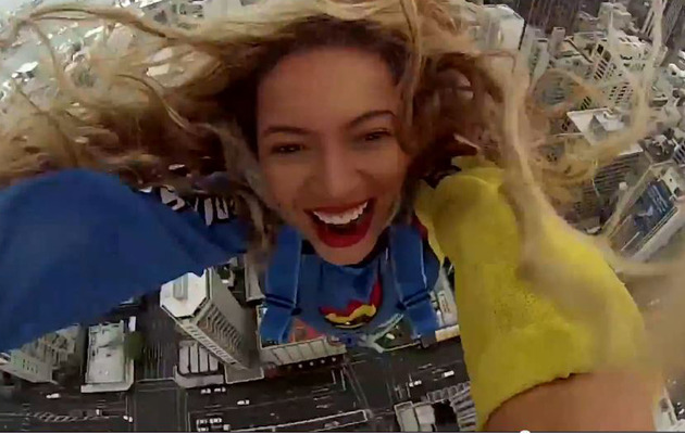 Beyonce Posts SkyJump Video ... And It's Awesome!