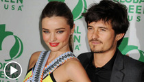 Orlando Bloom and Miranda Kerr -- Suddenly Single but Still Unattainable