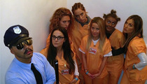 Julianne Hough -- Orange Is the New Blackface