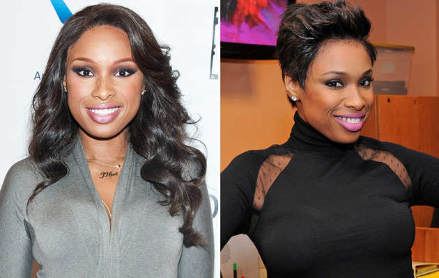 Jennifer Hudson Debuts Pixie Cut -- Like the Look?