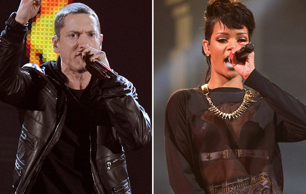 "Eminem & Rihanna Team Up Again for ""The Monster"""