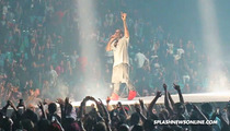 Kanye West Dedicates Song to Kim Kardashian at Vegas Concert -- Uh-Huh Honey [VIDEO]