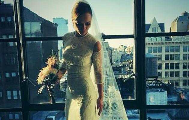 See First Photo of Christina Ricci's Wedding Dress!