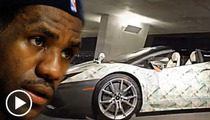LeBron James -- New Shoe Available with Matching Lambo