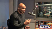 Mike Tyson to Chris Brown: STOP PUNCHING PEOPLE ... Or Else