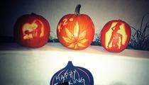 Miley Cyrus -- I'm All About PORNO Pumpkins