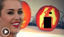 Miley Cyrus -- Making Halloween Even More PORNY