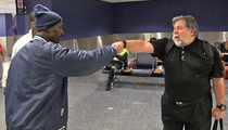 Steve Wozniak Meets DMX -- The Most Awkward Intro EVER!