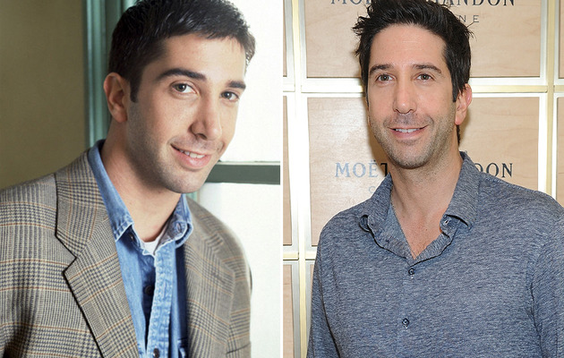"David Schwimmer Turns 47 -- See the Cast of ""Friends"" Then & Now!"