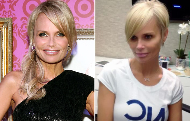 Kristin Chenoweth Debuts Short New 'Do!