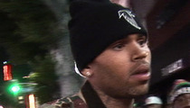 Chris Brown -- OUT OF REHAB ... On Community Service Beat