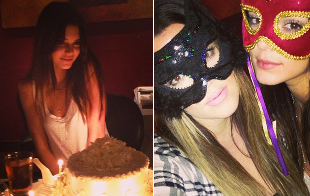 Photos: Inside Kendall Jenner's 18th Birthday Dinner