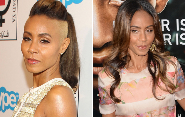 Jada Pinkett Shows Off Shaved 'Do!
