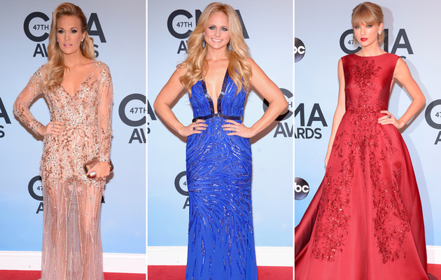 Carrie Vamps It Up, Miranda Flaunts Fit Figure at CMA Awards!